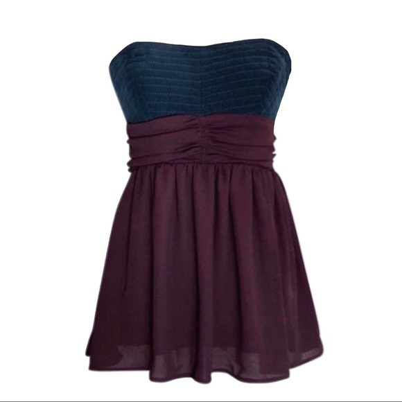 15fab2726cd8 Anthropologie Tops | Nwot Anthro Maeve Strapless Corduroy Corset Top ...